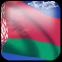Bandeira 3D de Belarus