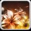 Glowing Flowers Live Wallpaper